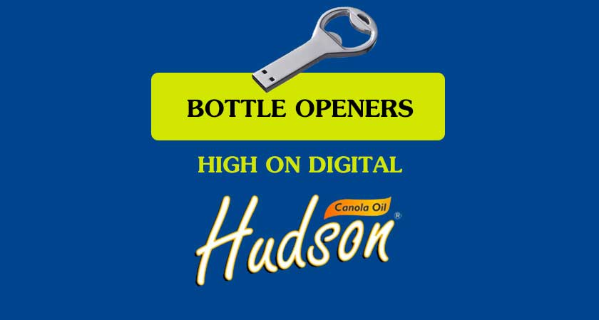 Hudson Canola Oil chooses Bottle Openers as its authorized digital agency