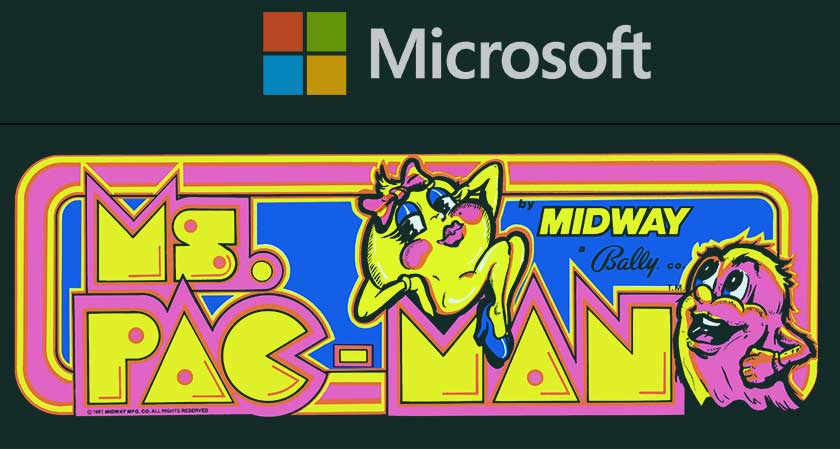 One of Microsoft's AI systems has made the perfect score in the 1980s video game Ms. Pac-Man