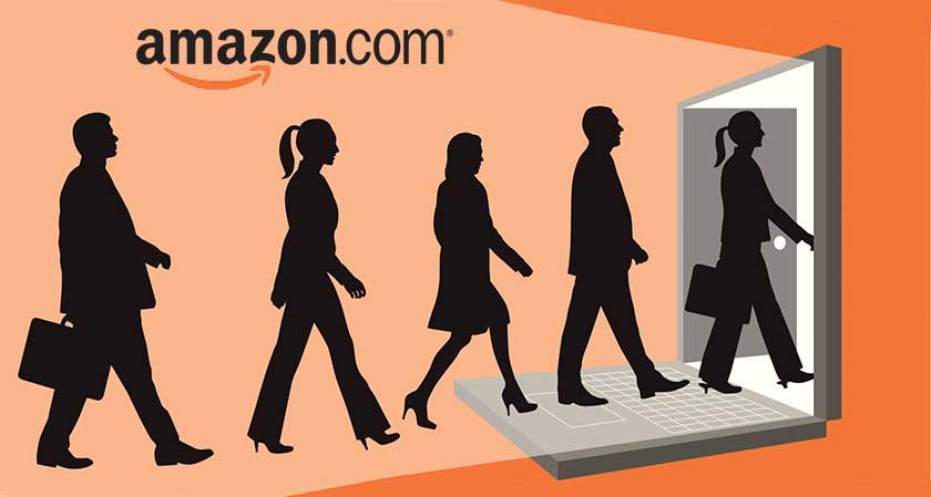 Amazon to create 100,000 full-time jobs in U.S. by 2018