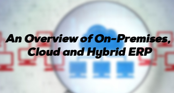 An Overview of On-Premises, Cloud and Hybrid ERP