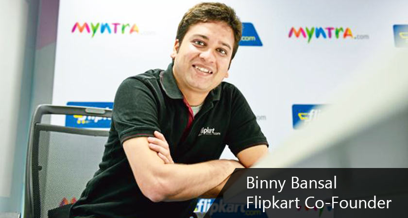 Flipkart to grow up with deliberation to costs says co-founder Binny Bansal