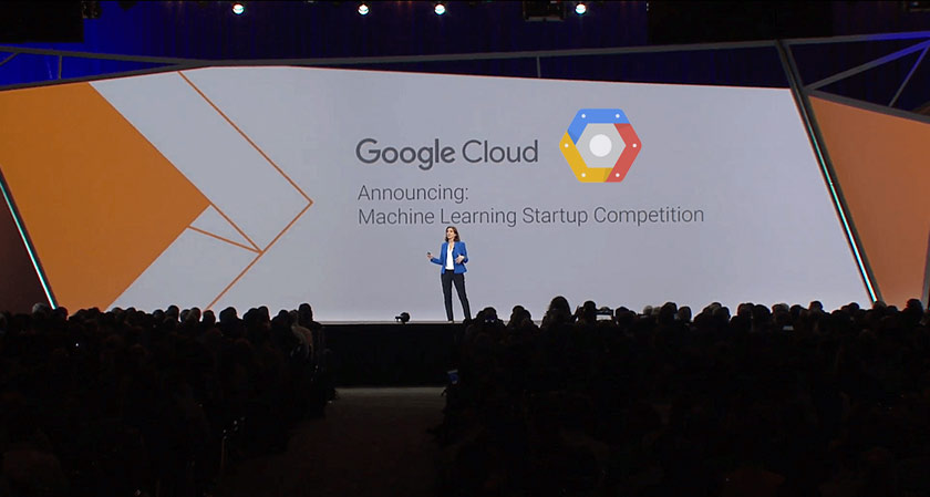 Google cloud is hosting Machine Learning competition for Startup!