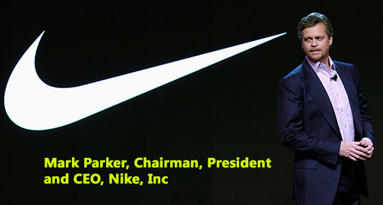 Leading Innovation and Design, Mark Parker is Embracing Nike's Legacy Since Years- Mark Parker, Chairman, President and CEO, Nike, Inc