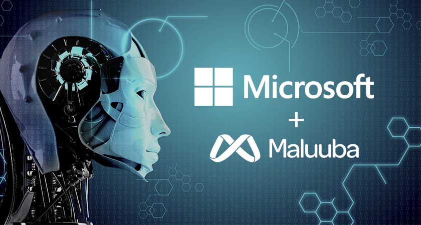 Microsoft joins Maluuba a startup, to focus on Artificial Intelligence.