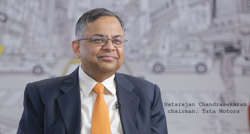 Tata Motors appoints Natarajan Chandrasekaran as chairman of the board