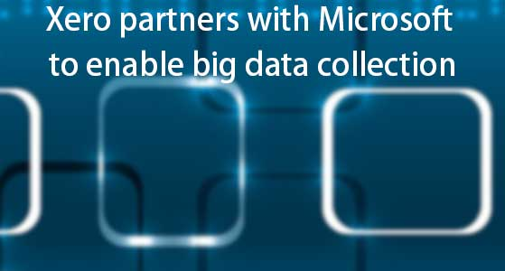 Xero partners with Microsoft to enable big data collection
