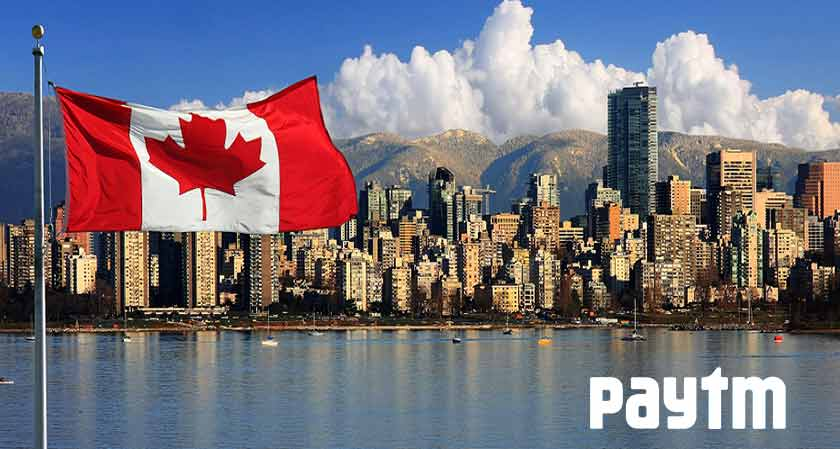Paytm announces its digital payment service in Canada