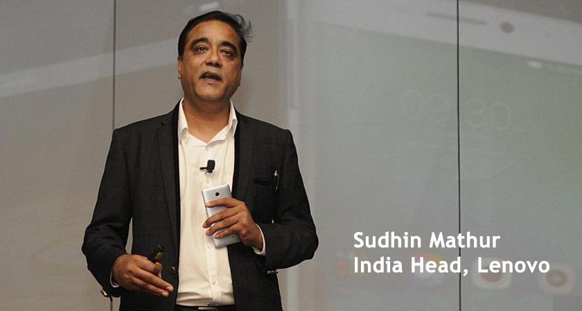 """Lenovo-Moto brand strategy works best in India"" - says India head Sudhin Mathur"
