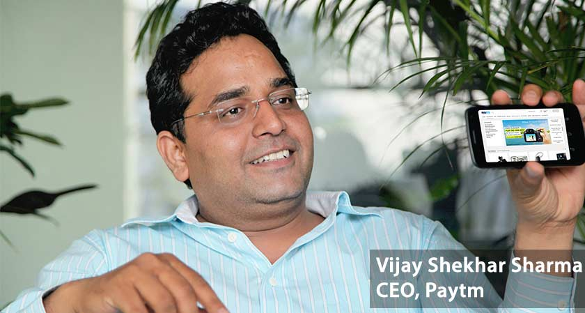 """Right now we are focusing on mounting into banking sector this year.""- says Vijay Shekhar Sharma, CEO, Paytm"