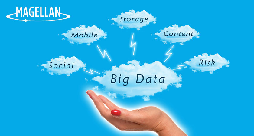 Magellan will acquire, merge, manages and analyzes big data and big content