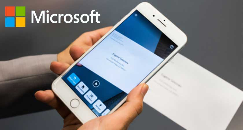 Microsoft launches a seeing AI iPhone app that illustrate text, objects and people to the visually impaired