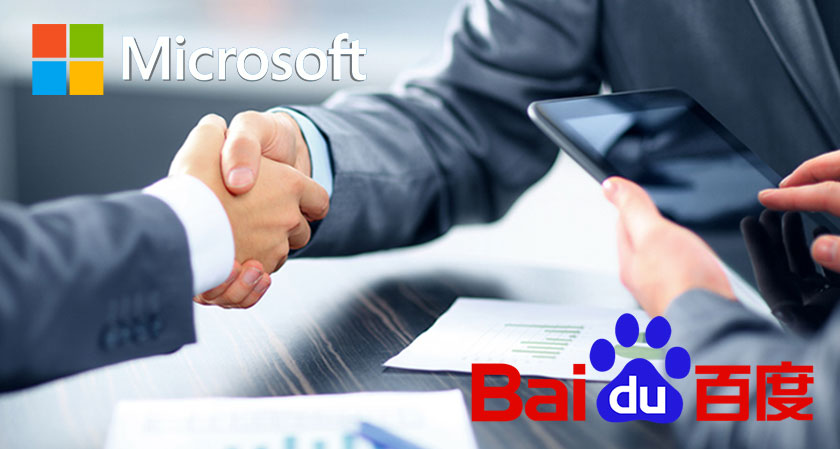 Microsoft shook hands with Baidu to speed up the development of autonomous driving technologies