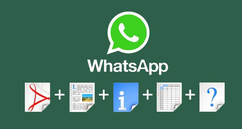 WhatsApp all new update allows users share any type of files