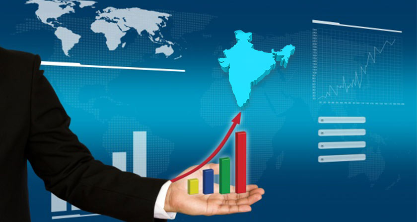 Growth in GDP Boosts Indian Economy