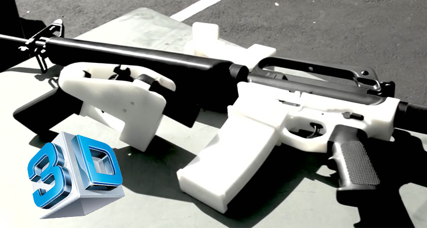 Designer of 3D printed guns re-uploads his schematics citing violation of First Amendment