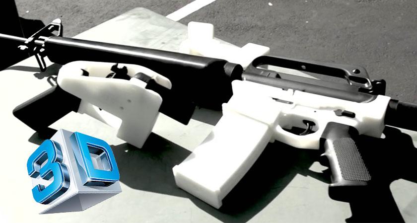 Designer of 3D printed guns re-uploads his schematics citing violation of First Amendment