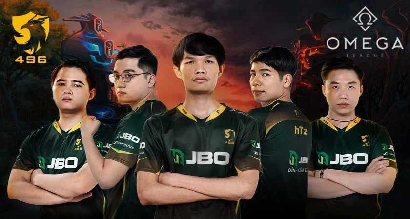 496 Gaming wins the Asia's biggest gaming competition the Omega League