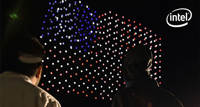 Innovation that is luminous: 500 drones to replace fireworks above Travis Air Force Base