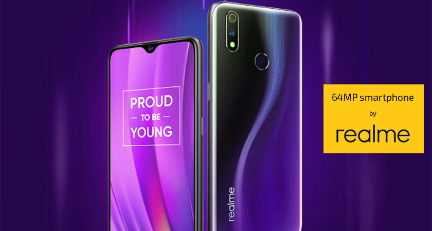 Realme to Roll out Its mysterious 64MP Smartphone in India