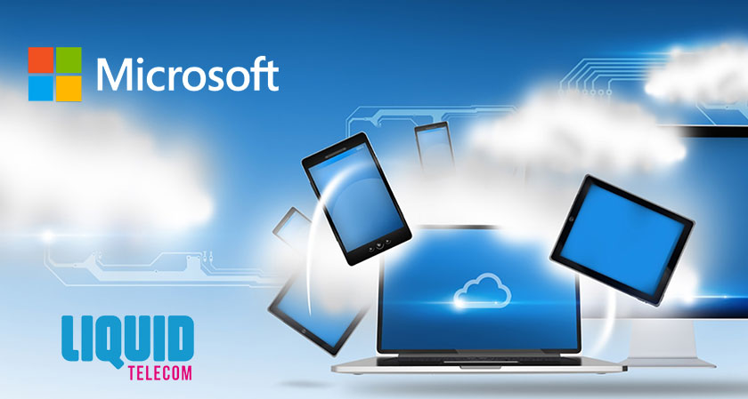 Liquid Telecom partners with Microsoft to sell Cloud Solutions