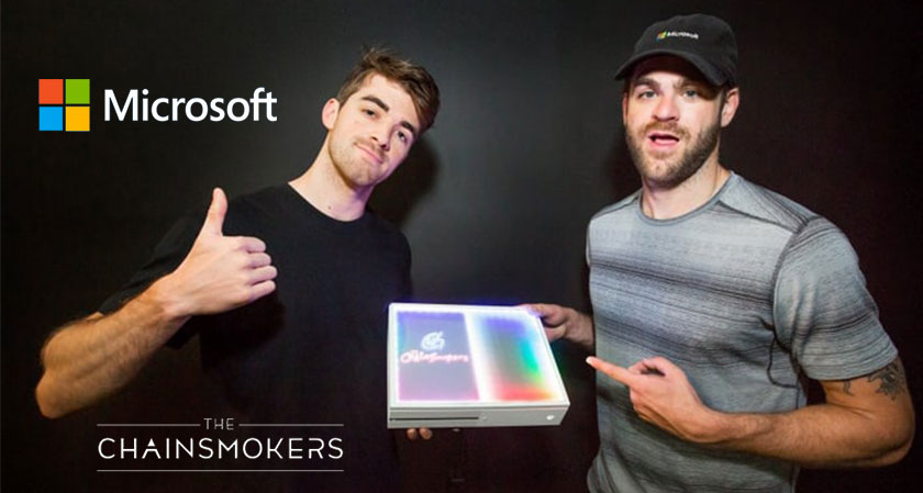 Microsoft and The Chainsmokers release a special-edition Xbox One - a new Xbox in town!