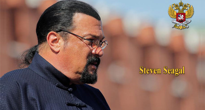 Action star Steven Seagal appointed as Russian Ministry's special representative