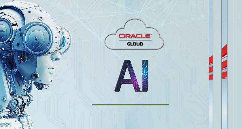 Oracle Artificial Intelligence Cloud Application for Smart Manufacturing