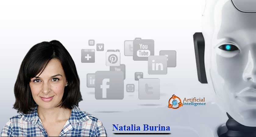Natalia Burina, a refugee from Yugoslavia who migrated to the U.S in the early 90s is now a successful tech entrepreneur