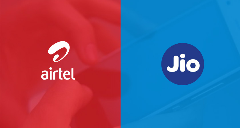 Airtel sharply narrowed the gap with Reliance Jio on incremental revenue market share