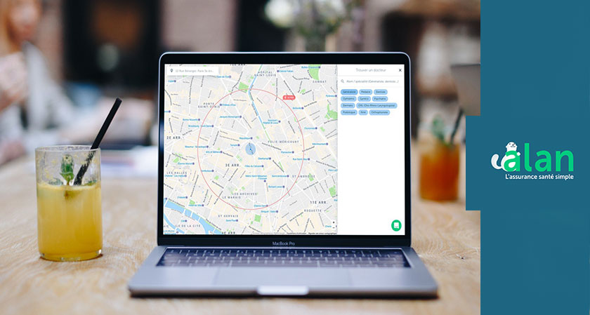 Alan Maps makes possible for people to locate doctors around them