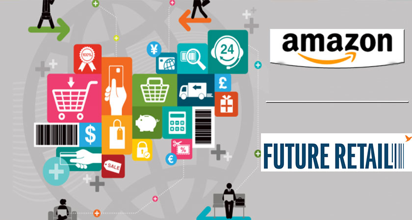 Amazon enters into a Rs 2,500 crore deal with Future Retail for a 9.5% stake
