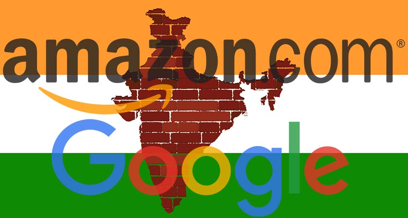 Amazon and Google to follow policy draft rules under India's E-commerce Department