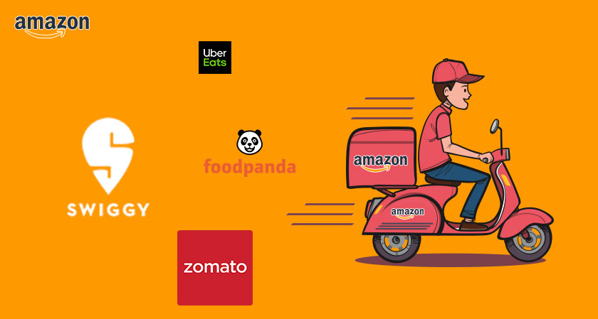 The Giant Amazon to take on Swiggy and Zomato: A New Competitor for Online Food Delivery