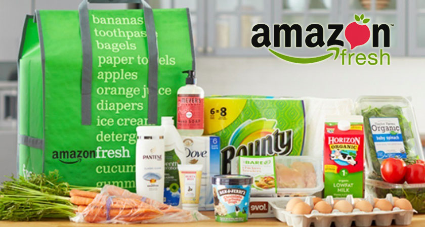Amazon withdraws delivering fresh groceries