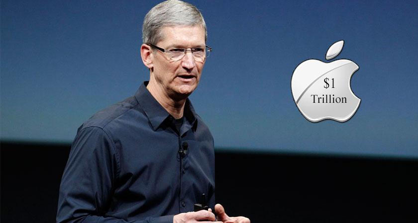 Apple creates history with $1 trillion market cap