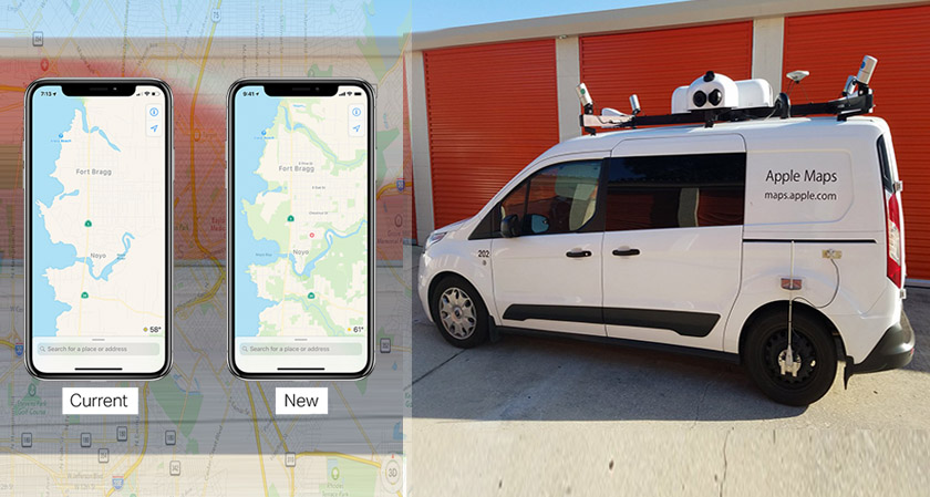 Apple to rebuild its Maps App with improved precision mapping