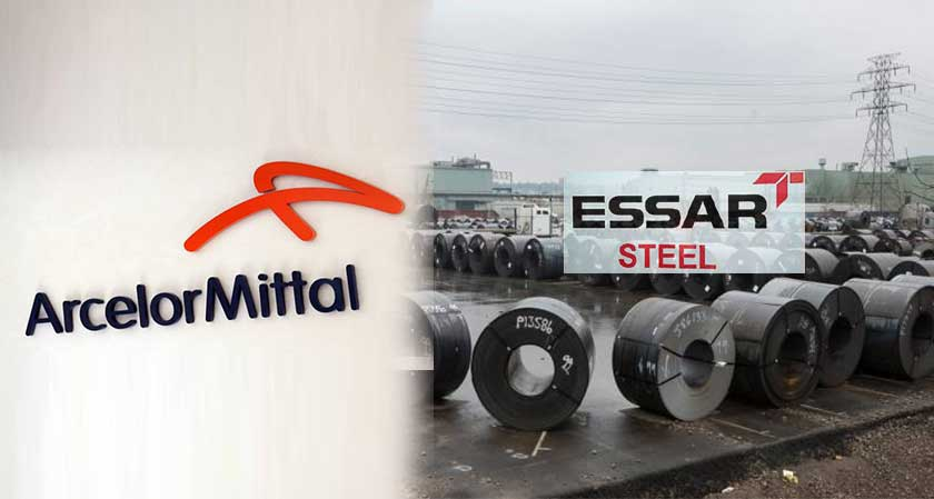 ArcelorMittal wins the Rs 42,000 crore bid to purchase Essar Steel