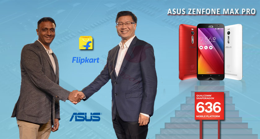 Flipkart to have a Strategic Partnership with Asus to Launch Asus ZenFone Max Pro