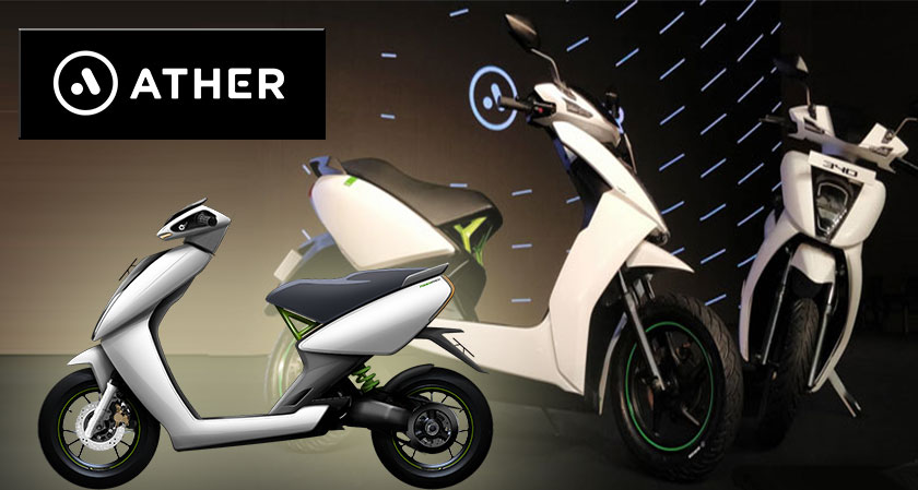 Ather Energy Seeks To Boost Up Its Electric Scooters Business across India, Raises $51 Million in Recent Funding