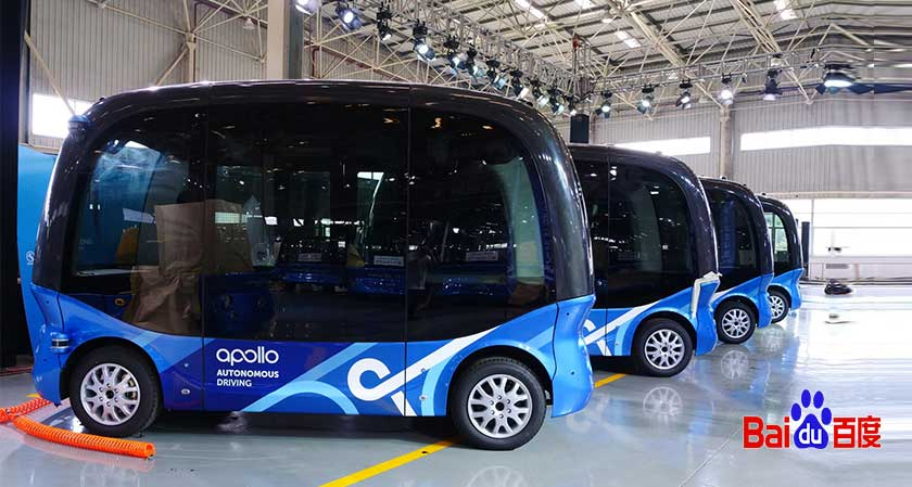 Chinese tech giant Baidu rolls out 100th autonomous bus