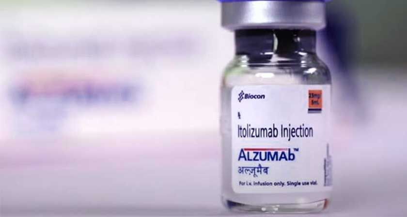 Biocon to launch most awaited DCGI approved COVID-19 drug Itolizumab; stock jumps five percent