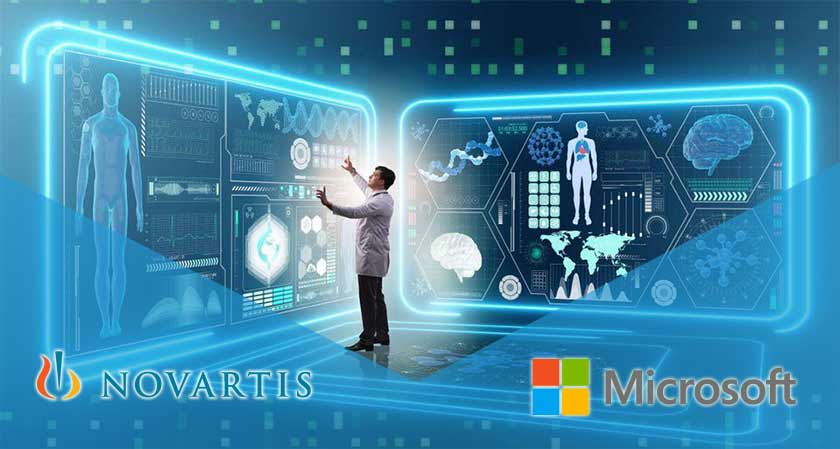 Novartis and Microsoft work to reinvent treatment discovery and development