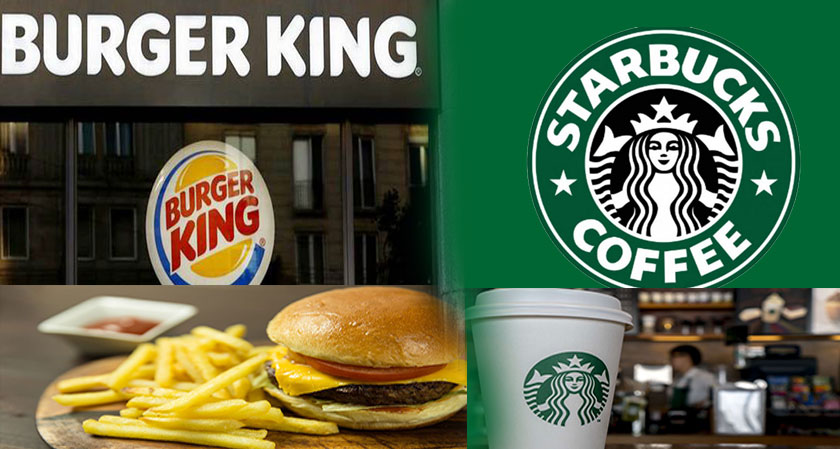 India: Burger King Outdoes its Rival Starbucks in FY18 Sales