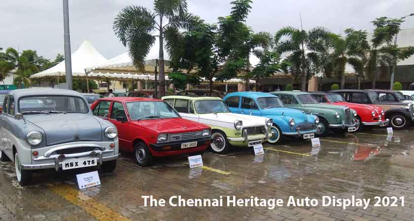 The Chennai Heritage Auto Display 2021 displays replica of world's first car