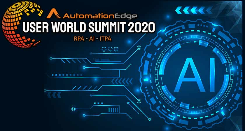 AutomationEdge Summit 2020 Starts With Launch of CogniBot