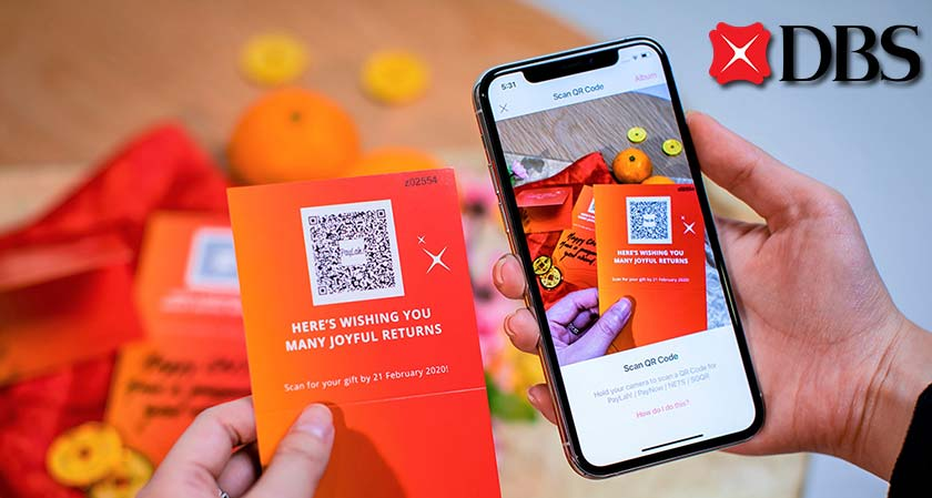 DBS' QR-Code Based Solution Addresses Singapore's Aim of Going Cashless