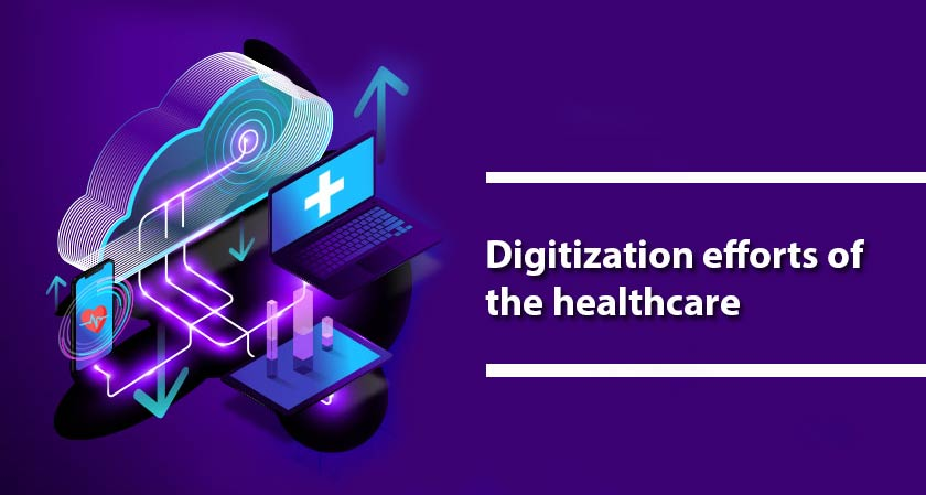 The ongoing Covid 19 pandemic has significantly boosted the digitization efforts of the healthcare segment
