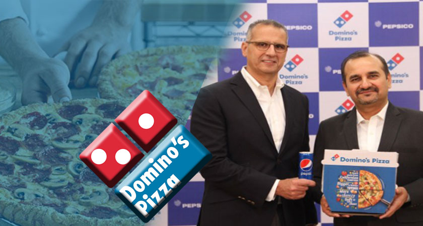 PepsiCo is The New Beverage Partner of Dominos in India