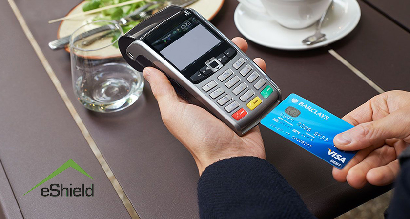 "e-shield to enable users to switch ""on"" and ""off"" their debit and credit cards"