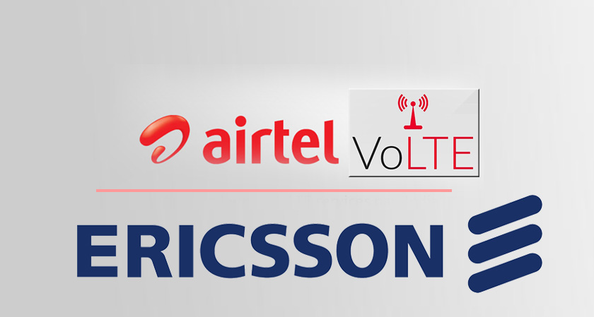 Ericsson Bags VoLTE Deal in India
